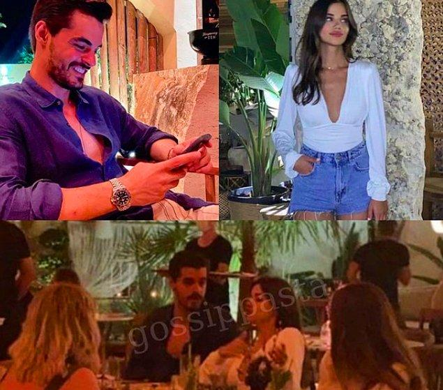 8. Bir süredir birlikte olan Berk Atan ve Selin Yağcıoğlu ilk kez ilişkileri hakkında konuştular.