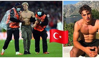 Her Yerdeyiz: EURO 2020 Final Maçında Sahaya Giren Gizemli Taraftar Sosyal Medyanın Gündemine Oturdu