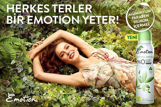 Emotion'ın doğal özler içeren yeni deodorantlarıyla tanıştın mı? Doğal kaynaklardan elde edilen özler içeren Emotion ile terlemekten korkma! 🌿