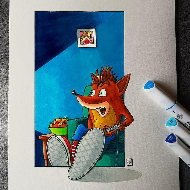 11. Crash Bandicoot