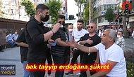 'Tayyip Erdoğan'a Şükret Sana Kredi Kartı Vermiş' Diyen Vatandaş