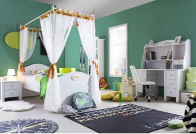 2. Minik prensesler için harika bir çocuk odası takımı... Pardon genç kız odası takımı diyecektim :)