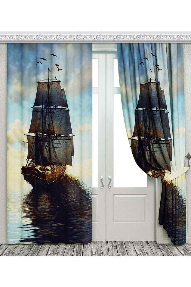 15. Bazen de sadece bir perde alırsın ve odanın tüm havası değişir...
