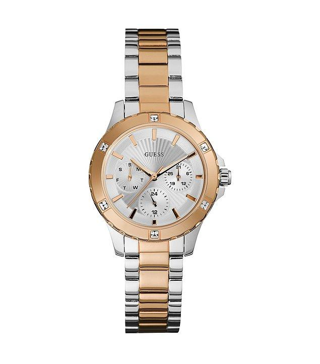 1. Kolunuzda her an ışıldayacak Guess saat modeli!