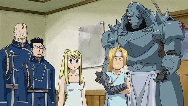 19. Fullmetal Alchemist: Brotherhood (2009)