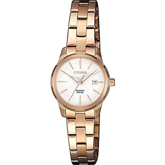 12. Rose gold takılarınıza en yakışacak saat modelleri için;