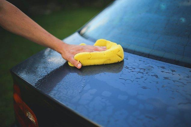 8. Arabanızı iyice temizleyin.