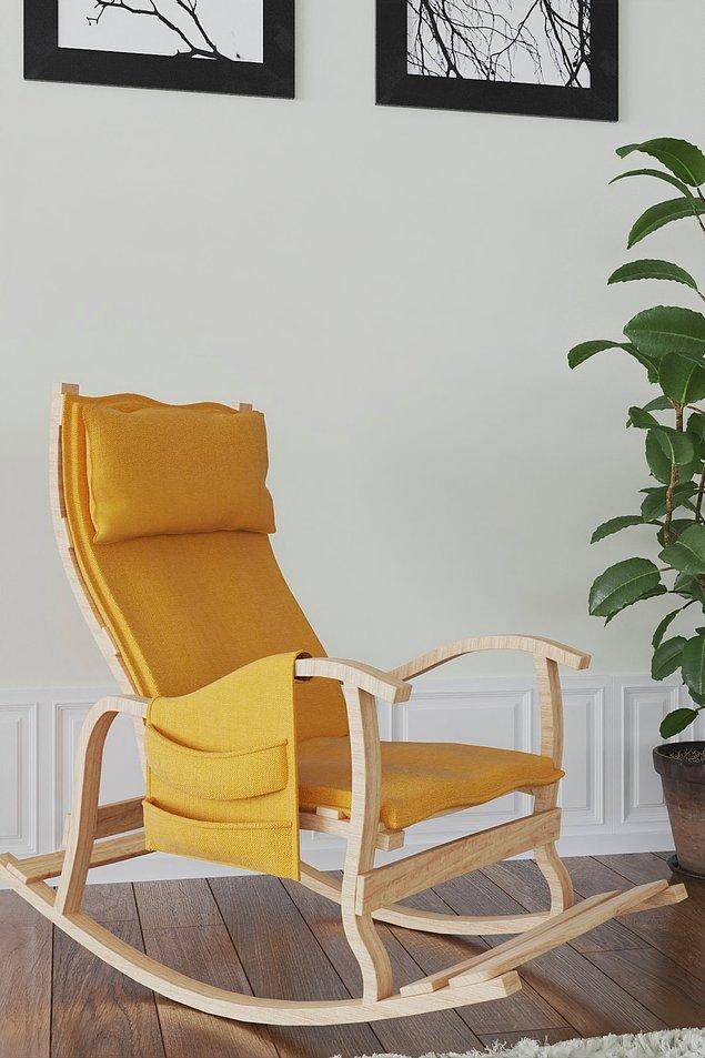 9. Odaların havasını değiştiren sallanan sandalye...