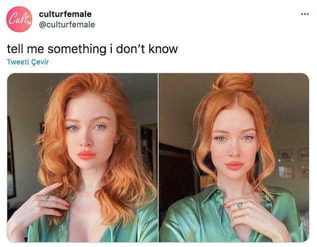 Twitter'da 'culturefemale' adlı bir kullanıcı bu kadının fotoğrafını paylaşarak 'bana bilmediğim bir şey' söyle diyince olanlar oldu. Birçok kullanıcı enteresan bilgilerle hepimizi şaşırttı.