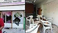 Marmaris'te HDP Binasına Saldırı