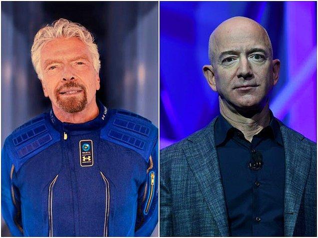 """Uzay seyahatinde """"ilk milyarder"""" olma mücadelesini haberlerden duymuşsunuzdur."""