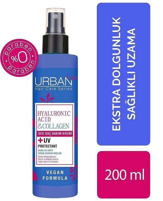 3. Paraben içermeyen hyalüronik asit ve kolajen içeren bu saç bakım kremini Urban Care kalitesiyle kullanın.