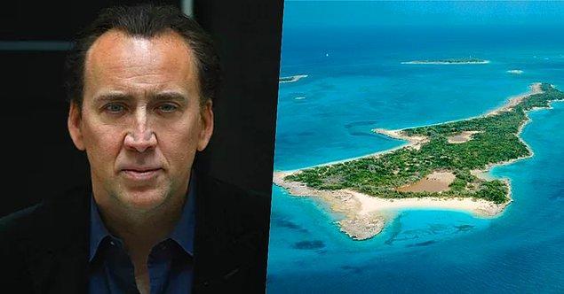 5. Ünlü oyuncu Nicolas Cage sahip olduğu özel mülk için toplam 150 milyon dolar harcamış. Bu miktarın 3 milyon dolarlık bir kısmı kendisinin Bahamalar'daki adası için.