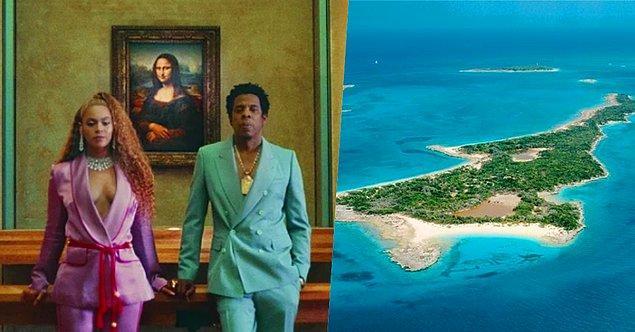 7. Jay-Z eşi Beyoncé'nin 29. doğum günü için Florida Keys'ten 20 milyon dolar değerinde olduğu söylenen bir ada satın almış!
