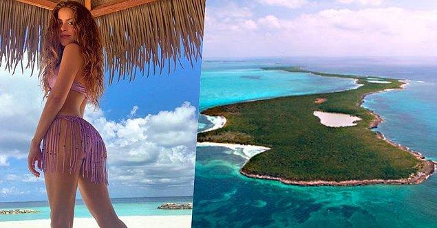 12. Şarkıcı Shakira da Bahamalar'ın Bonds Cay isimli ünlü adasını yıllar önce 16 milyon dolara satın almış.