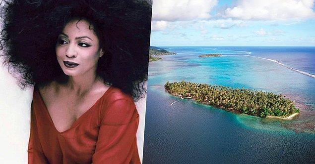 20. 77 yaşındaki Amerikalı sanatçı Diana Ross'un da Fransız Polinezyası'nda Tiano isimli bir adası var. Kendisi 80'li yıllarda balayını bile bu adada geçirmiş.