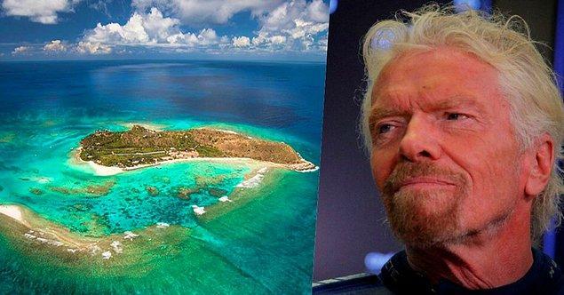 25. Geçtiğimiz günlerde uzaya giden ilk milyarder olarak tarihe adını yazdıran Richard Branson'ın British Virgin adalarında Necker isimli bir adası var.