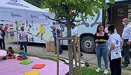 İBB'nin '500İG Gezici Kütüphane Eğlenerek Öğreniyoruz' Otobüsü Zeytinburnu Belediyesi Ekiplerince Kaldırıldı