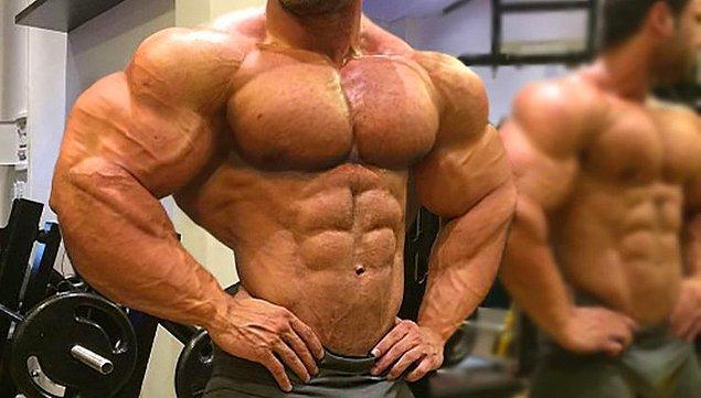 """6. """"Aşırı kas yapmak. Erkeklerin sık sık vücutlarını geliştirmek ve kaya gibi sert kaslara sahip olmak istediğini duyuyorum..."""""""