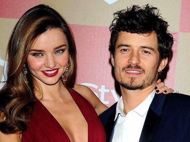 Ünlü model Miranda Kerr ile oyuncu Orlando Bloom, 2007 yılında başladıkları ilişkilerini 2010 yılında evlilikle taçlandırsalar da 2013 yılında boşanmışlardı.