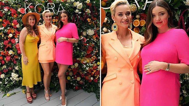 Daha da yakınlaştılar! Orlando Bloom'un eski eşi Miranda Kerr ile şimdiki nişanlısı Katy Perry kanka oldu!