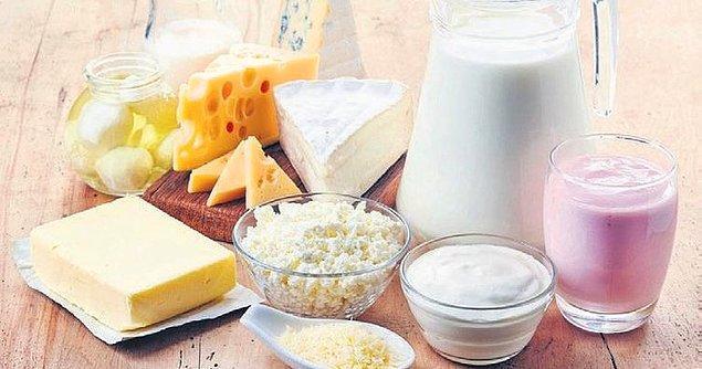 13. Süt ürünleri