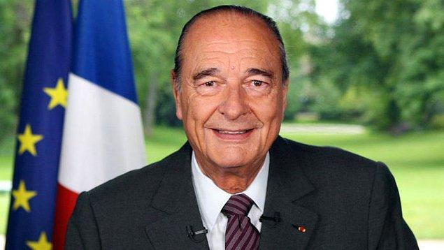 3. Jacques Chirac