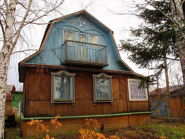 Genellikle Rusya'da görülen bu ev hangisi olabilir?