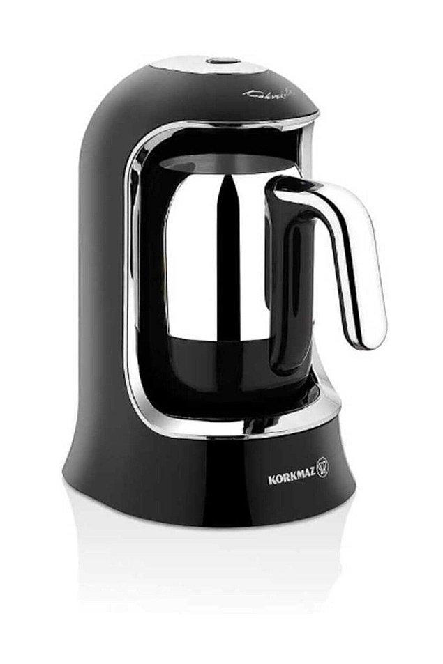 9. Korkmaz küçük ev aletleri de ev ekonomisine önem verenlerin çok tercih ettiği bir marka. Özellikle çay ve kahve makineleri çok beğeniliyor.