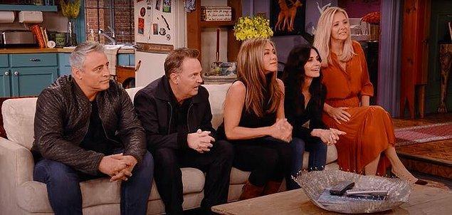 2. Friends özel bölümü 4 dalda Emmy'e aday gösterildi.
