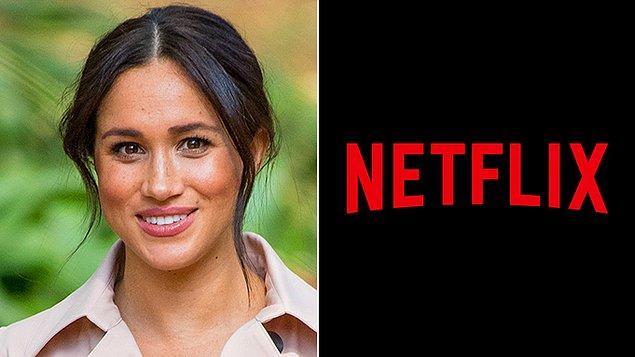 """4. Meghan Markle Netflix ile birlikte """"Pearl"""" isimli animasyon serisinin hazırlığına başladı."""