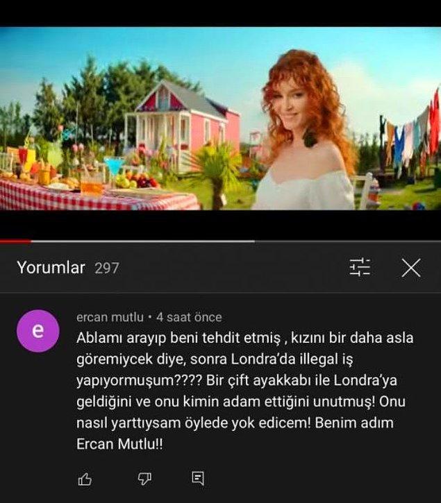 """Görücü usulüyle evlendiği ve 3 yıl önce boşandığı eski eşi Ercan Mutlu, """"Onu nasıl yarattıysam, yok edeceğim"""" ifadelerini kullanarak şarkıcıyı tehdit etti."""