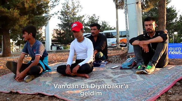 Taliban'ın güç kazanması ile de binlerce Afgan göçmen Türkiye'ye geldi.