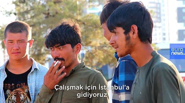 'Can güvenliğimiz yok' diyerek ülkelerini terk edip Türkiye'ye gelen birçok Afgan, İstanbul'da yaşamayı ve çalışmayı düşünüyor...
