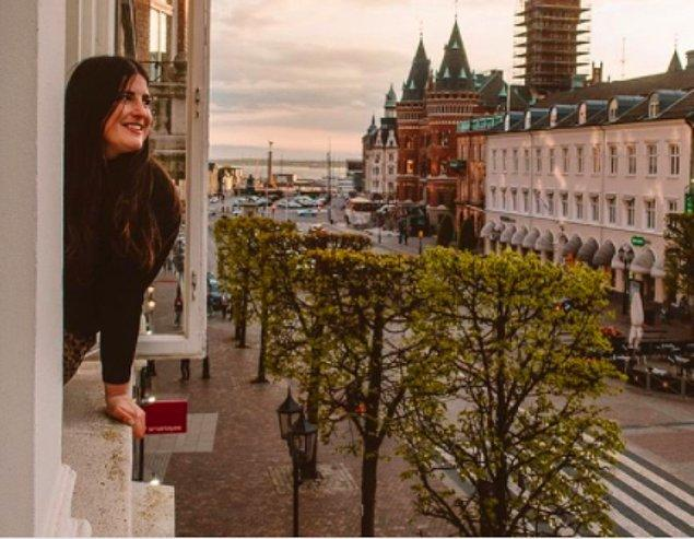 Sizleri Madeline Robson'la tanıştıralım. Kendisi 2 sene önce ülkesi Kanada'dan ayrılıp İsveç'e taşınmış.
