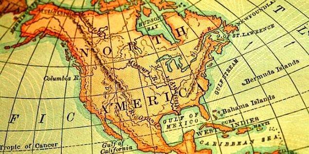 Kuzey Amerika çıktı!