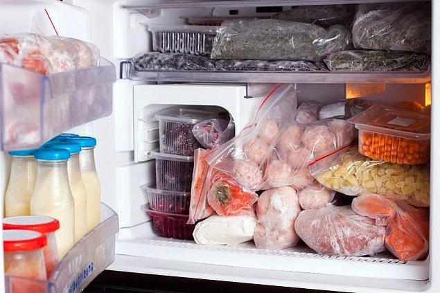 7. Bozulacak yiyeceklerinizi dolapta bırakmayın!