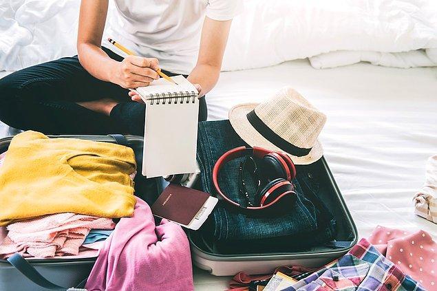 5. Ne kadar süre tatil yapacağınıza önceden karar verin.