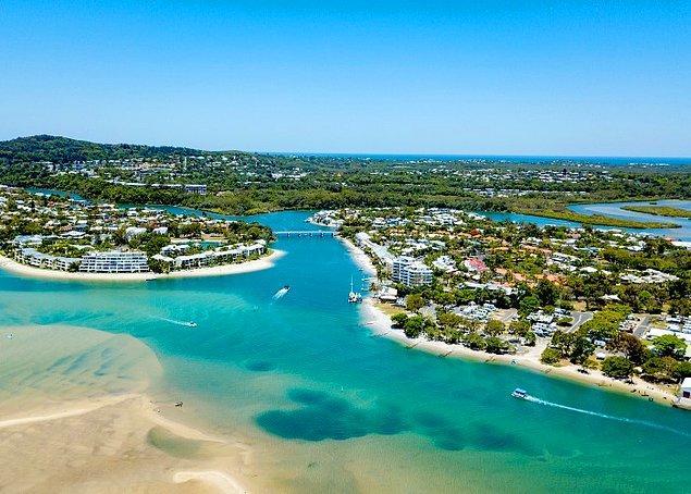 """6. """"Avustralya'daki tüm büyük şehirler kıyı şeridindedir. Bunun nedeni, kıtanın ortasının yaşamak için çok sıcak olmasıdır."""""""