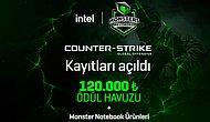 120.000 TL Ödüllü INTEL Monsters Reloaded'ın CS:GO Elemeleri Başlıyor!