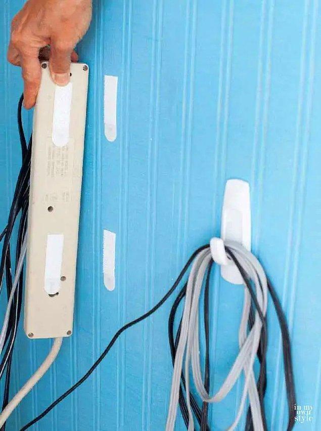 10. Televizyon arkası kablo yoğunluğu bunun için özel bir alan yapılmamışsa kabus gibi bir görüntüye neden oluyor.