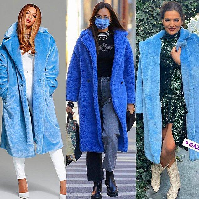 11. Beyoncé'nin markasına ait olan bu paltoyu Irina Shayk ve Demet Akalın da giymişti.