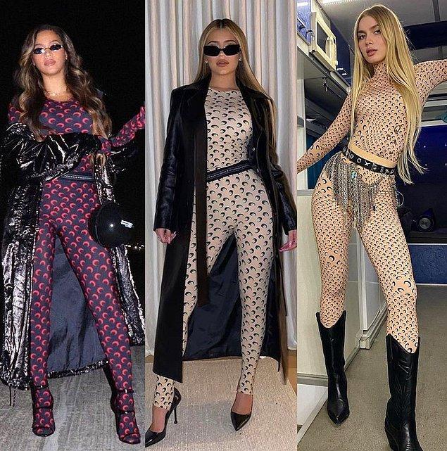 14. Aleyna Tilki'nin giydiği tulum bu yıla damgasını vurdu. Daha önce Beyoncé ve Kylie Jenner gibi pek çok ünlü giymişti.
