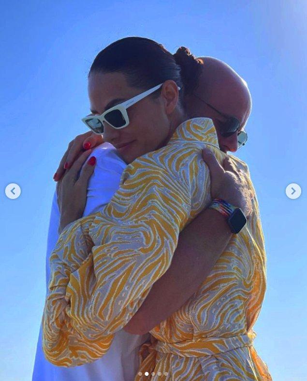 9. Yasemin Özilhan, eşi İzzet Özilhan ile olan evlilik yıldönümünü '10. Yılımız kutlu olsun ❤️ Seninle beraber daha nice anı biriktirmeye 🥂' diyerek kutladı.