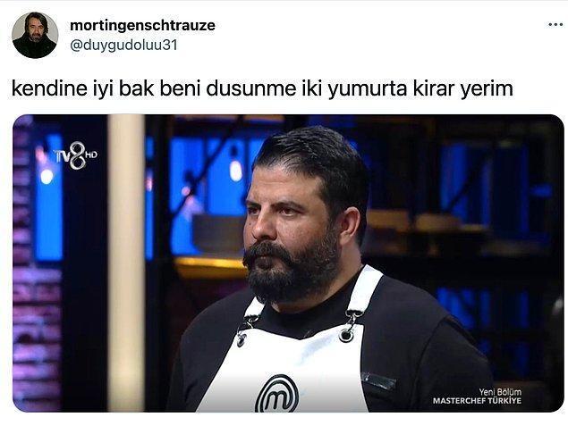 4. Ahmet Kaya'ya benzeyen MasterChef adayı mizahı devam ediyor.