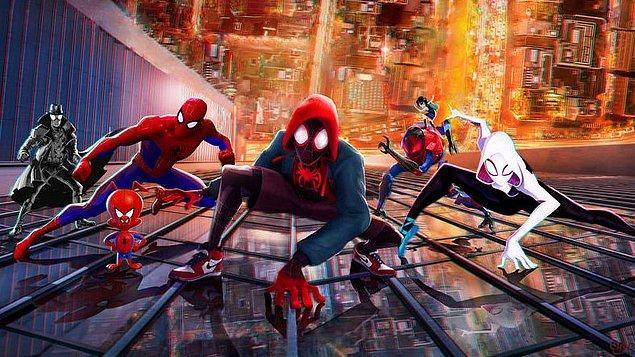 92. Spider-Man: Into the Spider-Verse (2018)
