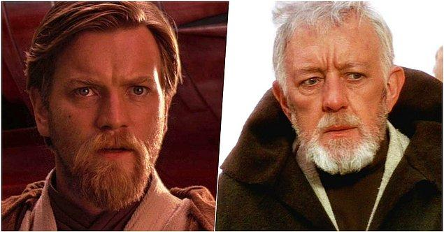 7. Star Wars serisi - Obi-Wan Kenobi karakteri