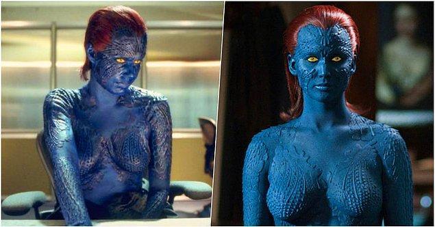 9. X Men serisi -  Mystique karakteri
