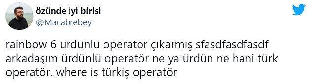10. Mevzu neden Ürdün'lü operatör olduğu değil, neden Türk operatör olmadığı.