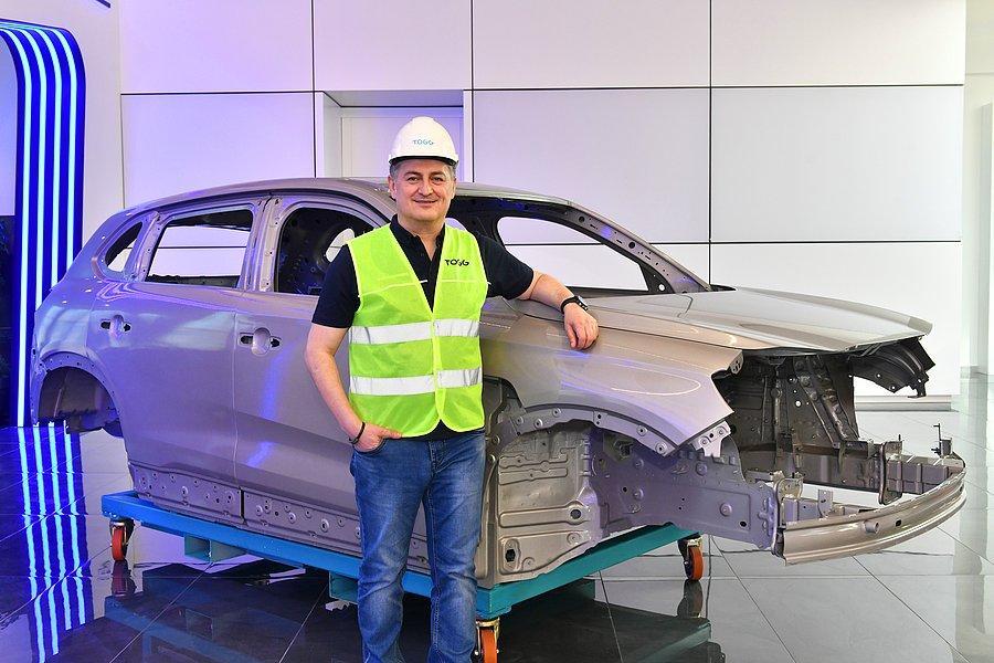? Yerli Otomobil TOGG'da İlk Montaj Yapıldı: İşte Fotoğraflar - onedio.com